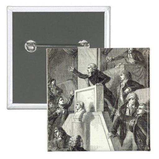 Meeting of the National Assembly, 1791 Pin