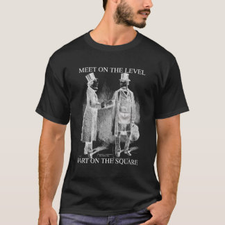 Meeting - Parting Freemasons T-Shirt