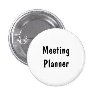 Meeting Planner 1 Inch Round Button
