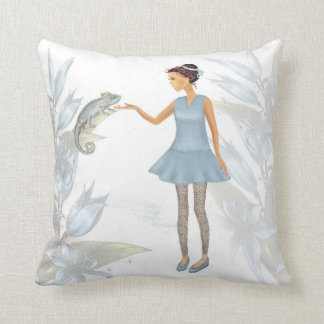 Meeting Throw Pillow