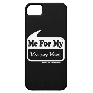 MeForMy Mystery Meat White iPhone Case