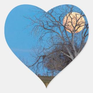 Mega Beaver Moon Heart Sticker