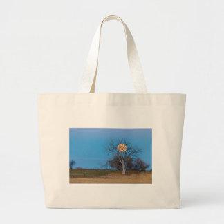 Mega Beaver Moon Large Tote Bag