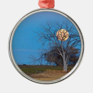 Mega Beaver Moon Metal Ornament