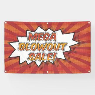 Mega Blowout Sale Banner