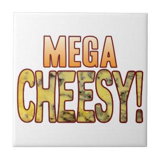 Mega Blue Cheesy Ceramic Tiles