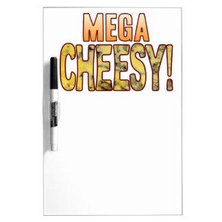 Mega Blue Cheesy Dry Erase Whiteboard