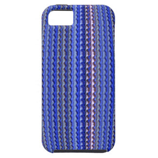 Mega Bright Colorful Purple Geometric Design Case For The iPhone 5