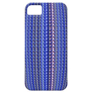 Mega Bright Colorful Purple Geometric Design iPhone 5 Case