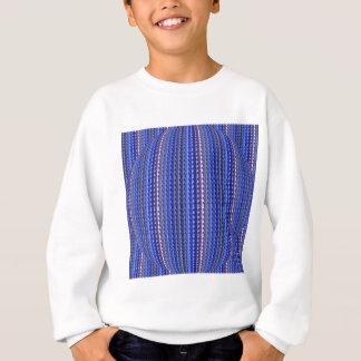 Mega Bright Colorful Purple Geometric Design Sweatshirt