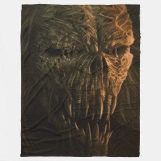 MEGA CREEPY FLEECE BLANKET