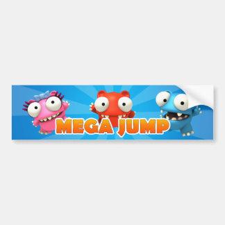 Mega Jump Bumper Sticker