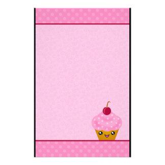 Mega Kawaii Cherry Cupcake Stationery