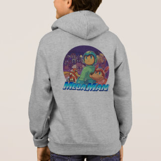 Mega Man & Rush Key Art Hoodie