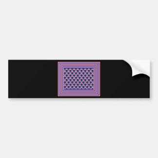 Mega Optical Illusion Bumper Sticker