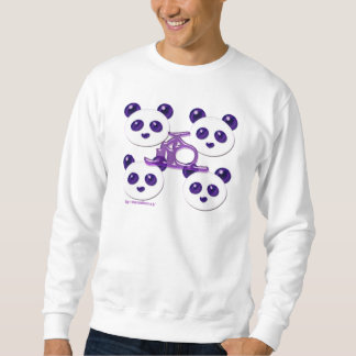 mega panda 5 sweatshirt