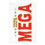 Mega Star Tag Stationery