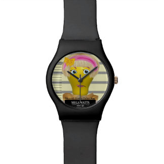Mega Watts Mugshot Watch