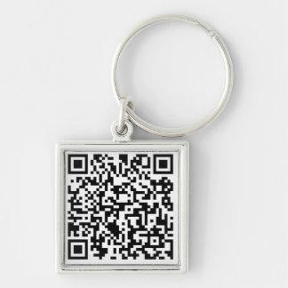 Megacoin Premium Square Keychain