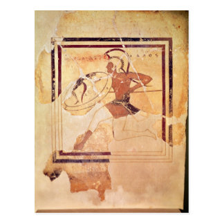 Megakles the Fair, 500 BC Postcard