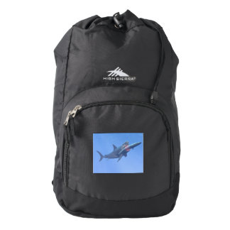 Megalodon eating a whale backpack
