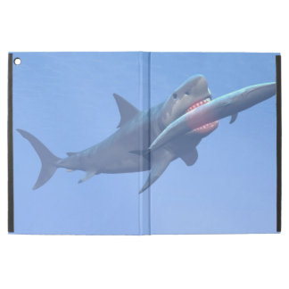 """Megalodon eating a whale iPad pro 12.9"""" case"""