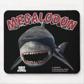 Megalodon Shark Mouse Pad