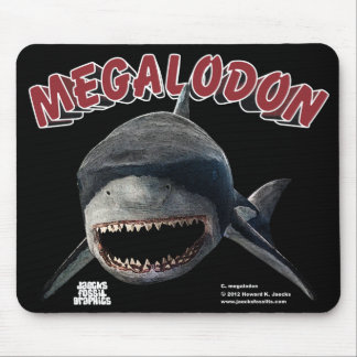 Megalodon Shark Mouse Pads