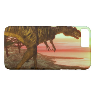 Megalosaurus dinosaur walking toward the ocean iPhone 8 plus/7 plus case