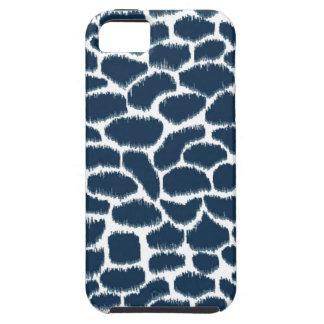 Megan Adams Animal Print Ikat Navy Case For The iPhone 5