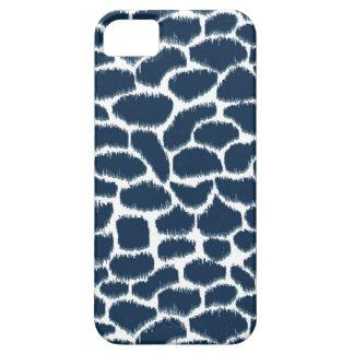 Megan Adams Animal Print Ikat Navy iPhone 5 Covers