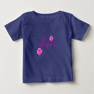 Megan Girls Name Logo, Baby T-Shirt