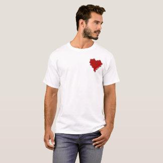 Megan. Red heart wax seal with name Megan T-Shirt
