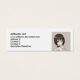 megane, Attlantic Art, www.attlantic.deviantart... Mini Business Card