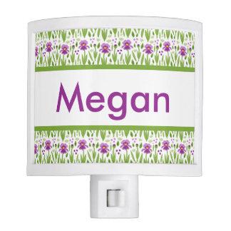 Megan's Personalized Iris  Night Light