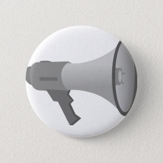 Megaphone 2 Inch Round Button