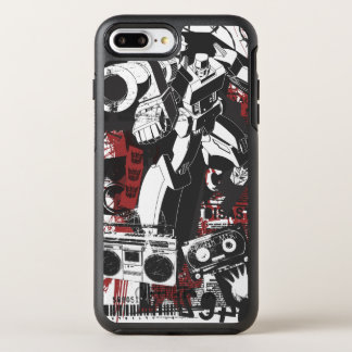 Megatron Grunge Collage OtterBox Symmetry iPhone 7 Plus Case