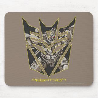 Megatron in Decepticon Shield Mouse Pad