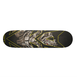 Megatron in Decepticon Shield Skate Board Decks