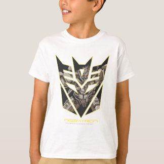 Megatron in Decepticon Shield T-Shirt