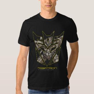 Megatron in Decepticon Shield T Shirts