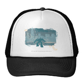 Megatron TF3 Urban Teal Badge Trucker Hats