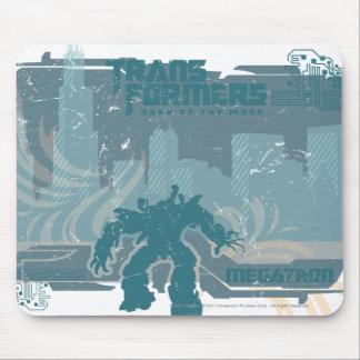 Megatron TF3 Urban Teal Badge Mouse Pad