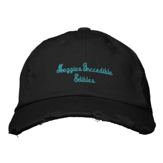 Meggies Incredible Edibles Embroidered Hats