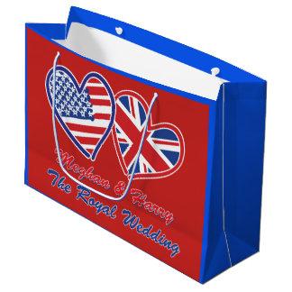 Meghan and Harrys Royal Wedding Large Gift Bag