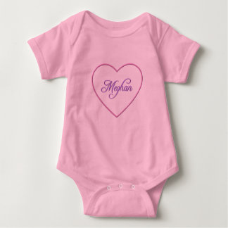 Meghan Heart Baby Bodysuit