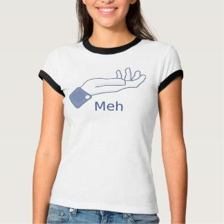 Meh Facebook Button T-Shirt