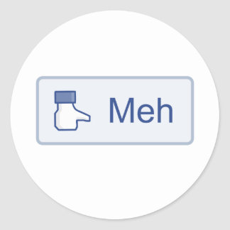 Meh - Facebook Stickers