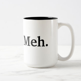 Meh Koffietas Two-Tone Coffee Mug