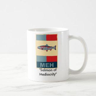 "meh, ""Salmon of Mediocrity"" Coffee Mug"